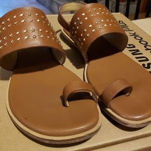 Michael Kors Sonya Stud Thong Sandal Size 6